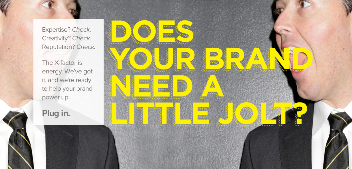 Does Your Brand Need A Little Jolt?